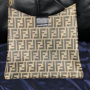 Fendi Bags - Authentic Vintage Fendi Zucca PVC Purse